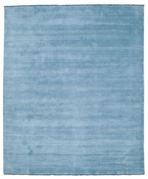 Handloom Fringes - Lys Blå Teppe 250X300 Moderne Lys Blå Stort (Ull, India)