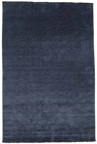 Handloom Fringes - Mørk Blå Teppe 200X300 Moderne Mørk Blå/Blå (Ull, India)