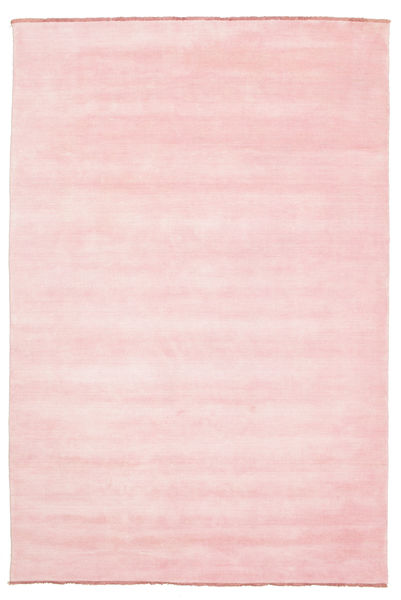 Handloom Fringes - Pink Teppe 200X300 Moderne Lyserosa (Ull, India)