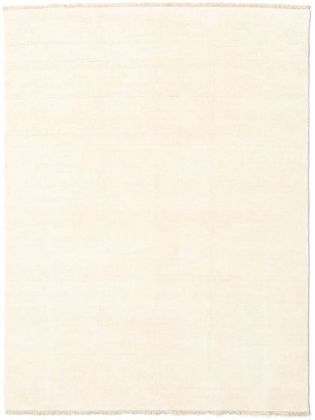 Handloom Fringes - Lys Teppe 140X200 Moderne Beige/Hvit/Creme (Ull, India)
