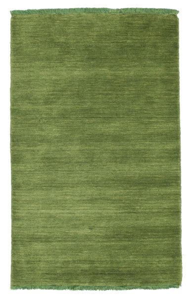 Handloom Fringes - Grønn Teppe 80X120 Moderne Olivengrønn (Ull, India)