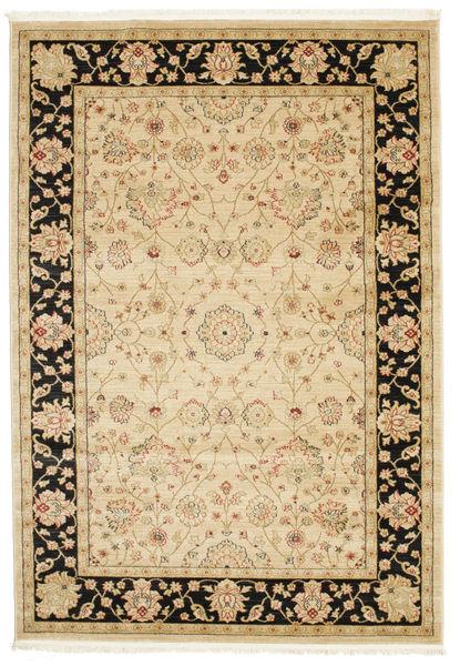 Farahan Ziegler - Beige Teppe 160X230 Orientalsk Beige/Lysbrun/Mørk Beige ( Tyrkia)