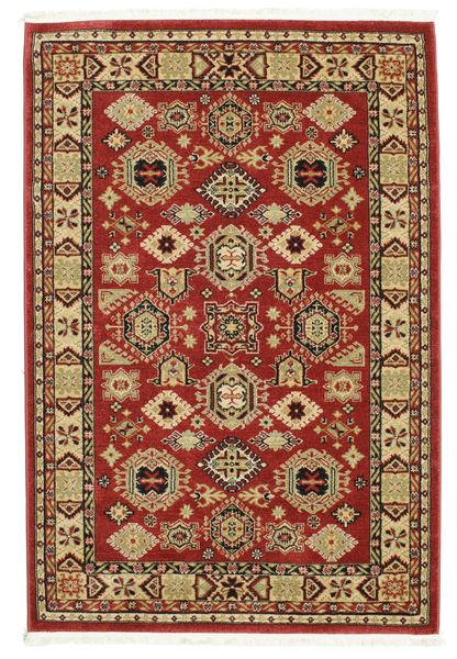 Shirvan Kazak Teppe 140X200 Orientalsk Mørk Rød/Mørk Brun ( Tyrkia)