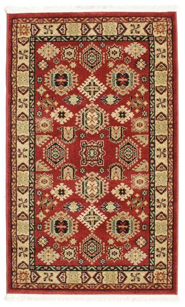 Shirvan Kazak Teppe 100X160 Moderne Mørk Rød/Hvit/Creme ( Tyrkia)