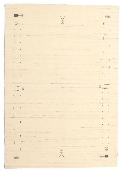 Gabbeh Loom Frame - Off White Teppe 160X230 Moderne Beige/Mørk Beige (Ull, India)