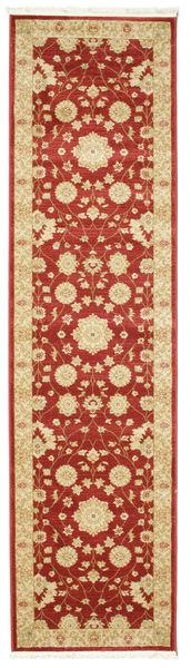 Farahan Ziegler - Rød Teppe 80X300 Orientalsk Teppeløpere Beige/Rust ( Tyrkia)