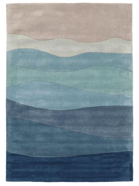 Feeling Handtufted - Blå Teppe 200X300 Moderne Lys Blå/Lys Grå (Ull, India)