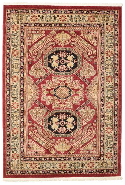 Kazak Mirvan Teppe 140X200 Orientalsk Mørk Rød/Mørk Brun ( Tyrkia)