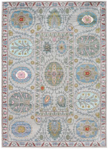 Orion - Grå Teppe 160X230 Moderne Lys Grå/Lysgrønn ( Tyrkia)