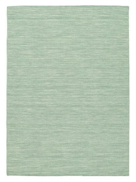 Kelim Loom - Mint Grønn Teppe 160X230 Ekte Moderne Håndvevd Turkis Blå/Pastell Grønn/Lys Blå (Ull, India)