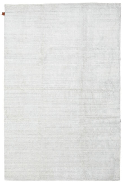 Bamboo Silke Loom - Lys Natural Teppe 200X300 Moderne Beige/Hvit/Creme ( India)