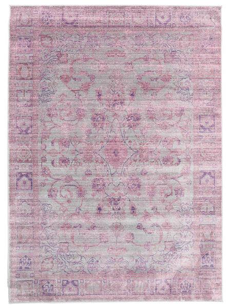 Maharani - Grå/Pink Teppe 160X230 Moderne Lyserosa/Lyselilla ( Tyrkia)