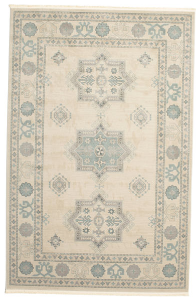 Kazak Lafayette - Cream Teppe 200X300 Orientalsk Lys Grå/Beige ( Tyrkia)
