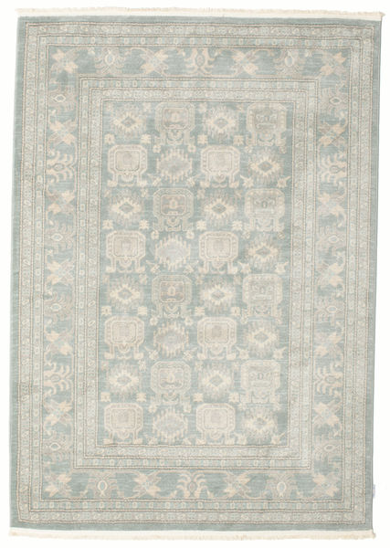 Ziegler Denver - Grønn/Beige Teppe 160X230 Orientalsk Lys Grå/Beige ( Tyrkia)