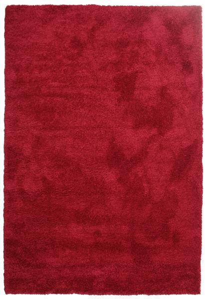 Shaggy Sadeh - Rød Teppe 200X300 Moderne Rød/Mørk Rød ( Tyrkia)