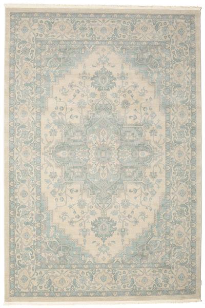 Ziegler Phoenix - Beige/Blå Teppe 250X350 Orientalsk Lys Grå/Turkis Blå Stort ( Tyrkia)