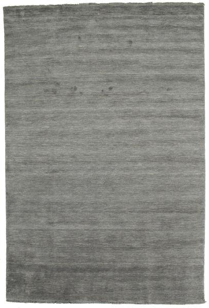 Handloom Fringes - Mørk Grå Teppe 200X300 Moderne Mørk Grå (Ull, India)