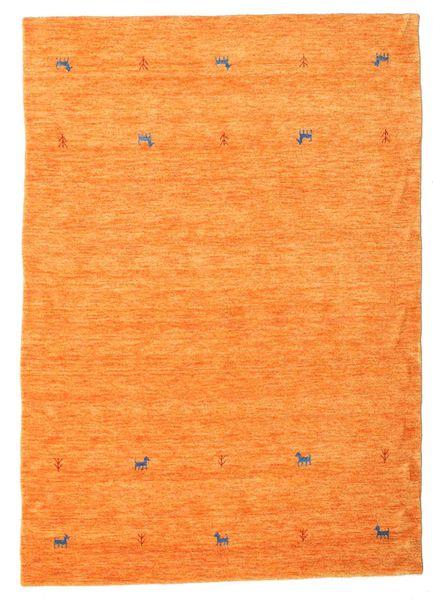 Gabbeh Loom Two Lines - Oransje Teppe 160X230 Moderne Orange (Ull, India)