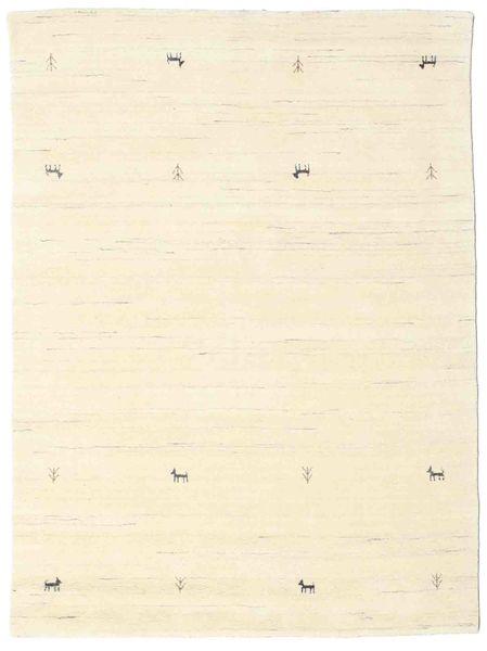 Gabbeh Loom Two Lines - Off White Teppe 140X200 Moderne Beige/Hvit/Creme (Ull, India)