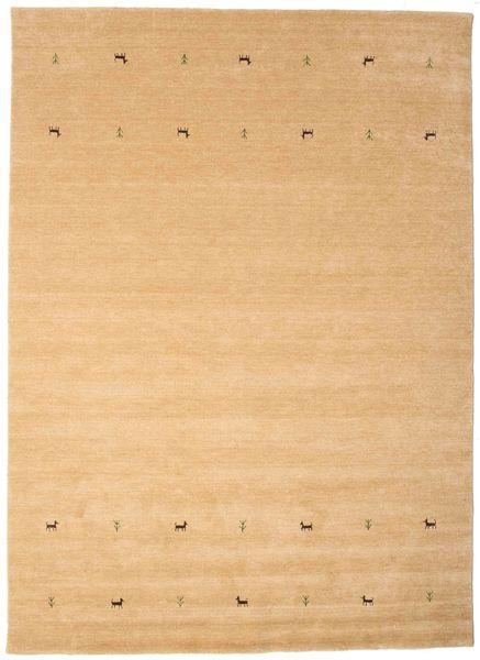 Gabbeh Loom Two Lines - Beige Teppe 240X340 Moderne Mørk Beige/Lysbrun (Ull, India)