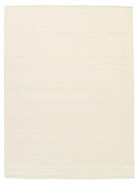 Kelim Loom - Off White Teppe 160X230 Ekte Moderne Håndvevd Beige/Hvit/Creme (Ull, India)