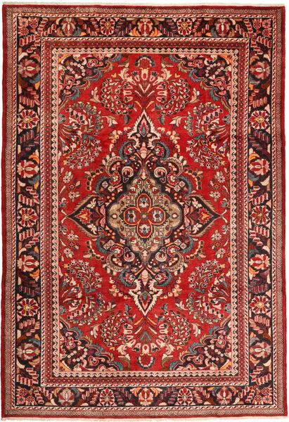 Lillian Teppe 228X340 Ekte Orientalsk Håndknyttet Mørk Rød/Rust (Ull, Persia/Iran)