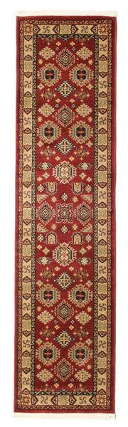 Shirvan Kazak Teppe 80X300 Orientalsk Teppeløpere Mørk Rød/Lysbrun ( Tyrkia)