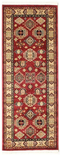 Shirvan Kazak Teppe 80X200 Orientalsk Teppeløpere Mørk Rød/Mørk Brun ( Tyrkia)