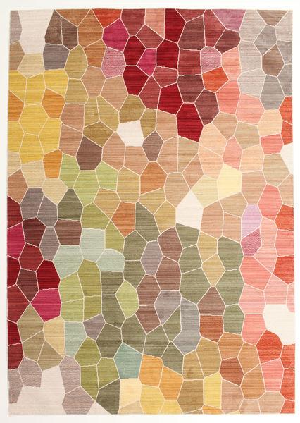 Play Of Colours Teppe 200X300 Moderne Mørk Beige/Mørk Brun ( Tyrkia)
