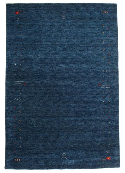 Gabbeh Loom Frame - Mørk Blå Teppe 190X290 Moderne Mørk Blå (Ull, India)