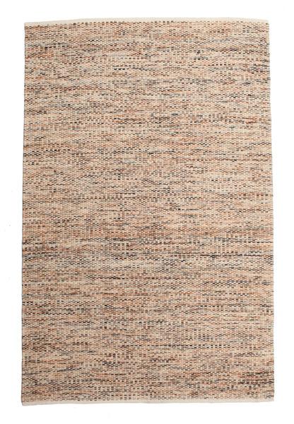 Pebbles - Multi Teppe 200X300 Ekte Moderne Håndvevd Lys Grå/Mørk Brun ( India)