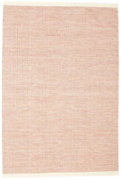 Seaby - Rust Teppe 160X230 Ekte Moderne Håndvevd Lyserosa/Hvit/Creme (Ull, India)