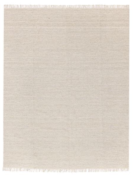 Melange - Sand Teppe 250X300 Ekte Moderne Håndvevd Beige/Lys Grå Stort (Ull, India)