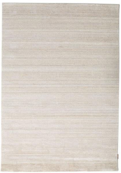 Bamboo Silke Loom - Beige Teppe 160X230 Moderne Lys Grå ( India)