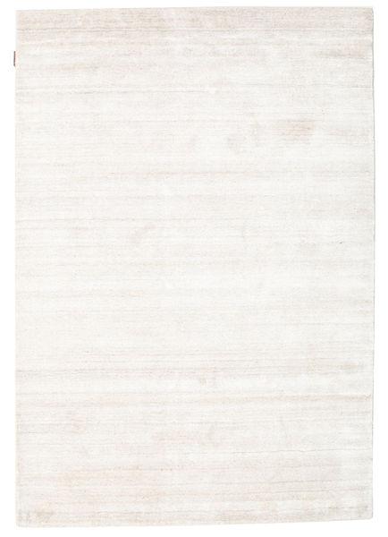 Bamboo Silke Loom - Beige Teppe 140X200 Moderne Beige/Hvit/Creme ( India)