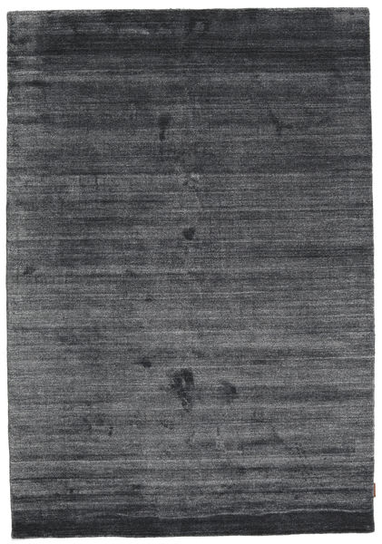 Bamboo Silke Loom - Charcoal Teppe 160X230 Moderne Lilla/Svart/Mørk Grå ( India)