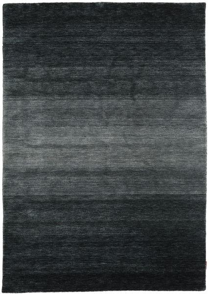 Gabbeh Rainbow - Grå Teppe 160X230 Moderne Svart/Mørk Grå (Ull, India)