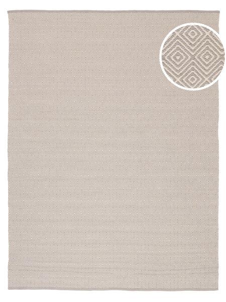 Diamond - Light_Gray Teppe 250X300 Ekte Moderne Håndvevd Mørk Beige/Lys Grå Stort (Bomull, India)