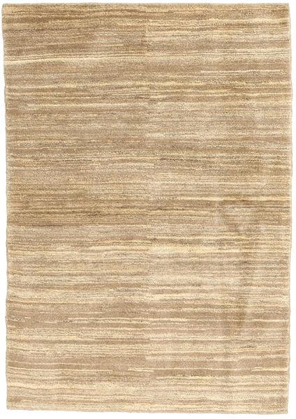Gabbeh Persia Teppe 103X148 Ekte Moderne Håndknyttet Beige/Mørk Beige/Lysbrun (Ull, Persia/Iran)