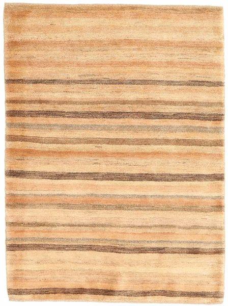 Gabbeh Persia Teppe 108X146 Ekte Moderne Håndknyttet Mørk Beige/Beige (Ull, Persia/Iran)