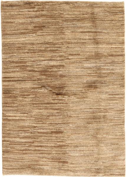 Gabbeh Persia Teppe 98X141 Ekte Moderne Håndknyttet Mørk Beige/Lysbrun (Ull, Persia/Iran)