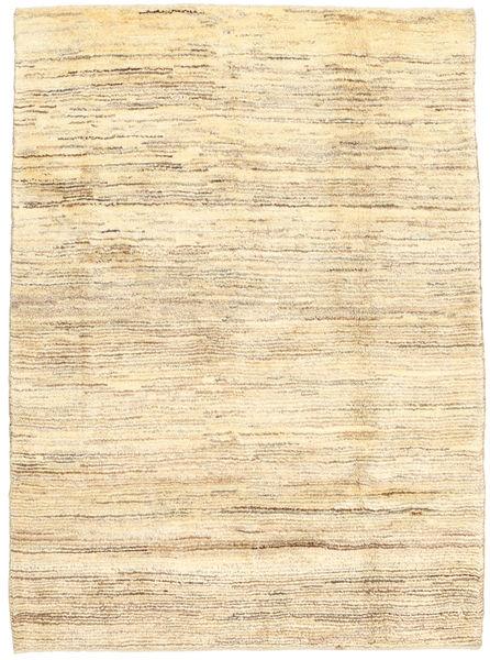 Gabbeh Persia Teppe 108X144 Ekte Moderne Håndknyttet Beige/Mørk Beige (Ull, Persia/Iran)