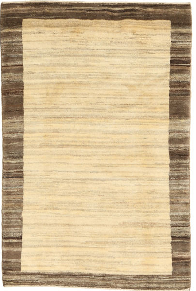 Gabbeh Persia Teppe 104X156 Ekte Moderne Håndknyttet Beige/Lysbrun (Ull, Persia/Iran)