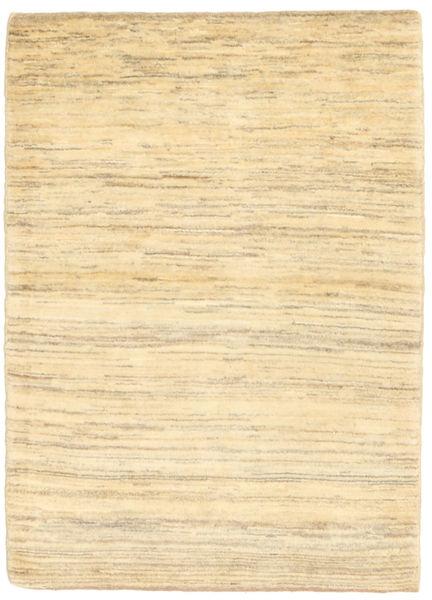 Gabbeh Persia Teppe 102X140 Ekte Moderne Håndknyttet Beige/Mørk Beige (Ull, Persia/Iran)