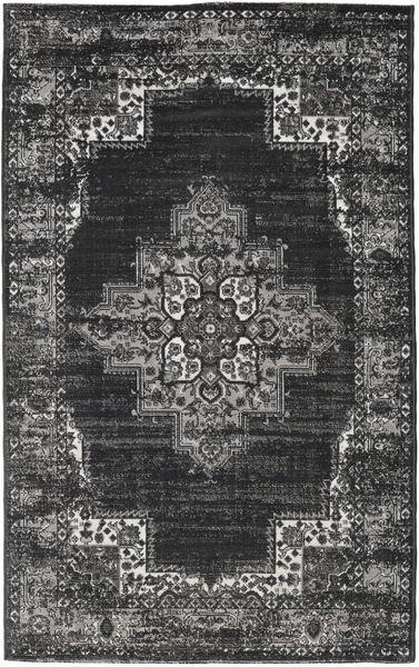 Vintage Vega - Anthracite/Grå Teppe 100X160 Moderne Mørk Grå/Lys Grå ( Tyrkia)
