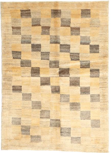 Gabbeh Persia Teppe 113X154 Ekte Moderne Håndknyttet Beige/Mørk Beige/Lysbrun (Ull, Persia/Iran)