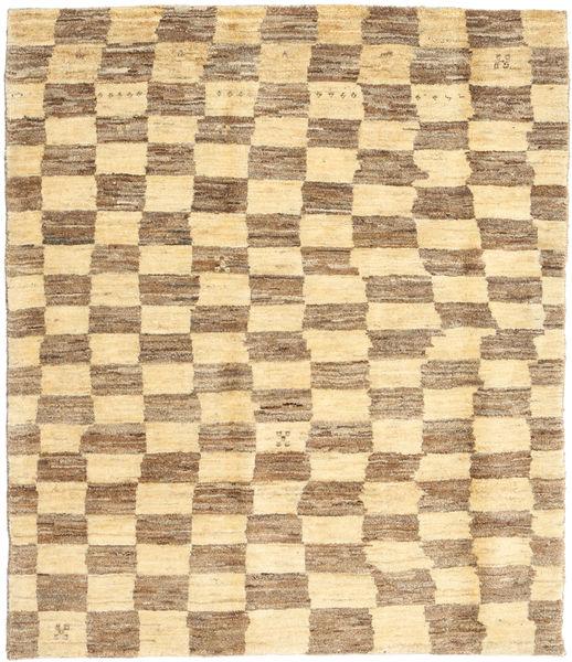 Gabbeh Persia Teppe 117X134 Ekte Moderne Håndknyttet Mørk Beige/Beige/Lysbrun (Ull, Persia/Iran)