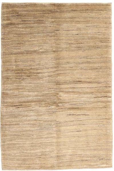 Gabbeh Persia Teppe 104X153 Ekte Moderne Håndknyttet Beige/Mørk Beige/Lysbrun (Ull, Persia/Iran)