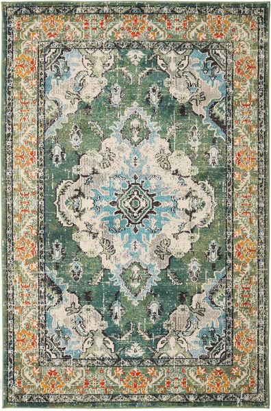 Leia - Grønn Teppe 160X230 Moderne Lys Grå/Olivengrønn ( Tyrkia)