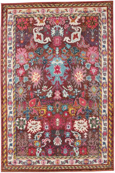 Mirzam - Mørk Lilla Teppe 160X230 Moderne Mørk Rød/Mørk Brun ( Tyrkia)